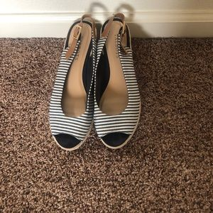 Talbots summer wedges